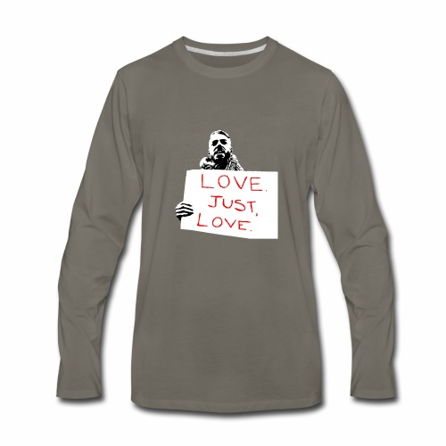 Just Love - Men's Premium Long Sleeve T-Shirt