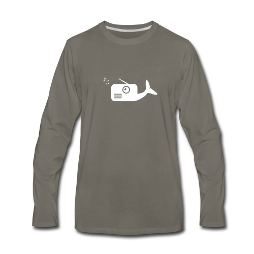 WhaleRadio Shirt - Men's Premium Long Sleeve T-Shirt