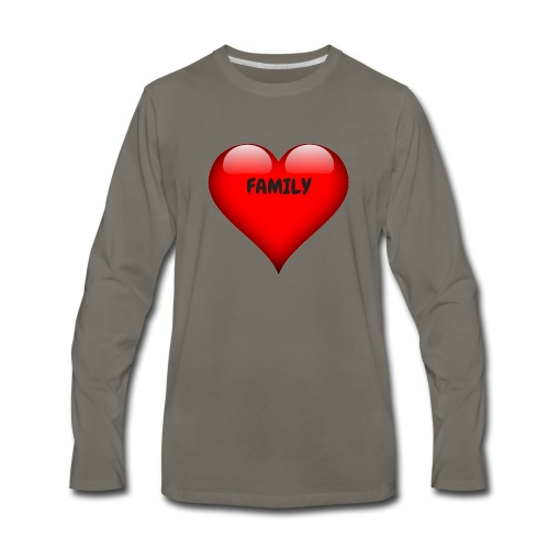 Love Family - Men's Premium Long Sleeve T-Shirt