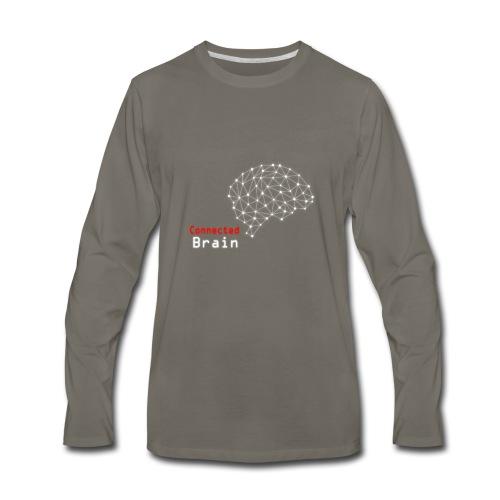 Connected Brain - Men's Premium Long Sleeve T-Shirt