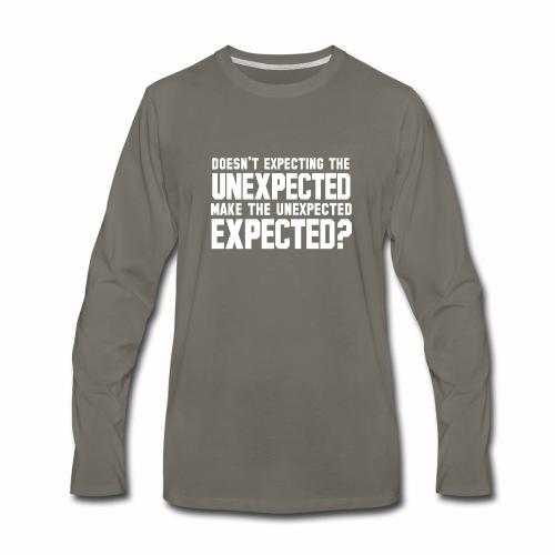 The Unexpected - Men's Premium Long Sleeve T-Shirt