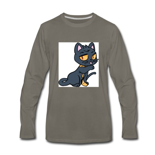 Kieran_Cat_Test - Men's Premium Long Sleeve T-Shirt