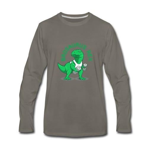 Brosaurus Rex Sweet Ass T-Shirt - Men's Premium Long Sleeve T-Shirt
