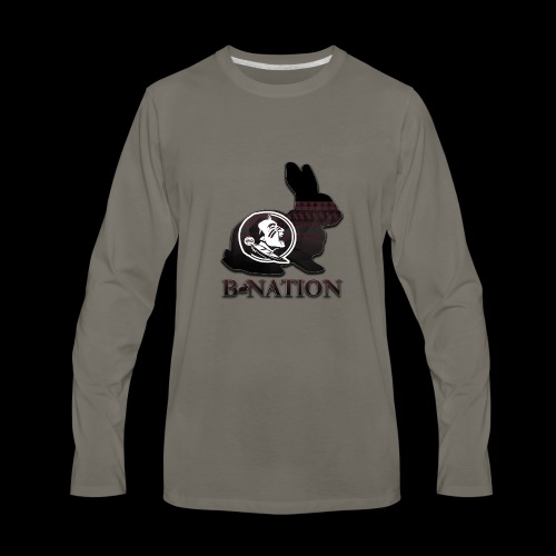 FSU Bunny - Men's Premium Long Sleeve T-Shirt