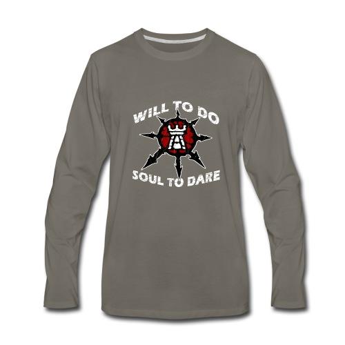 Task Force Havoc Logo and Motto - Men's Premium Long Sleeve T-Shirt