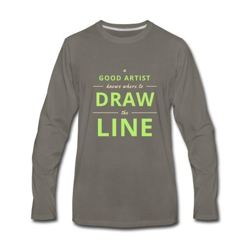 Good Artists - Men's Premium Long Sleeve T-Shirt