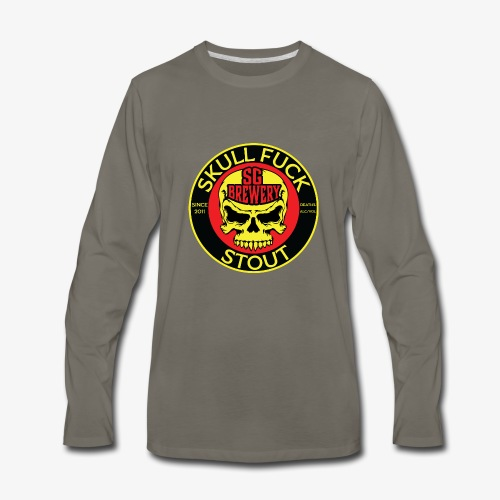 Skull Fuck Stout - Men's Premium Long Sleeve T-Shirt