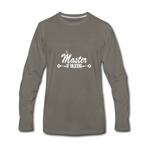 The Master of Unlocking (Alt) - Men's Premium Long Sleeve T-Shirt