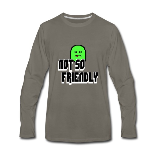 not_so_friendly_logo - Men's Premium Long Sleeve T-Shirt