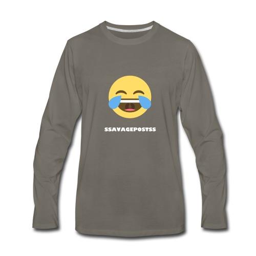 Men's Apparel - Men's Premium Long Sleeve T-Shirt