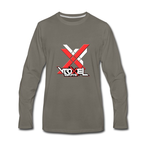 VXL Red Collection - Men's Premium Long Sleeve T-Shirt