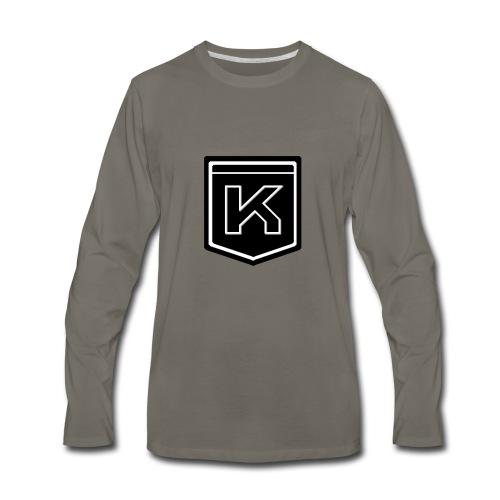 KODAK LOGO - Men's Premium Long Sleeve T-Shirt