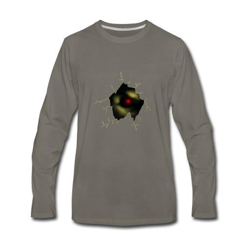 Broken Egg Dragon Eye - Men's Premium Long Sleeve T-Shirt