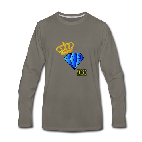 Sagaz diamante - Men's Premium Long Sleeve T-Shirt