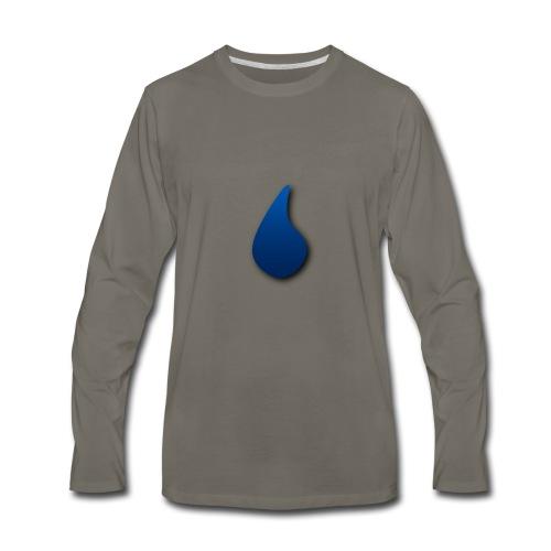 LinkedHacksource Official Logo - Men's Premium Long Sleeve T-Shirt