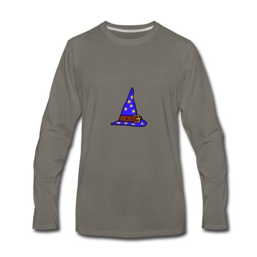 wizard_hat - Men's Premium Long Sleeve T-Shirt