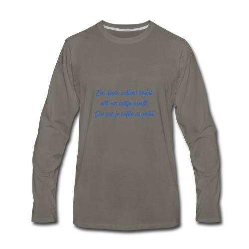 Kopje voor koffie - GAMEIT - Men's Premium Long Sleeve T-Shirt
