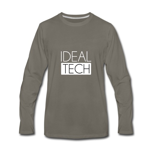 Ideal Tech - Men's Premium Long Sleeve T-Shirt