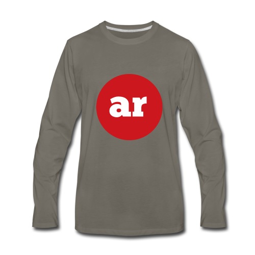 OAR LOGO 2 - Men's Premium Long Sleeve T-Shirt