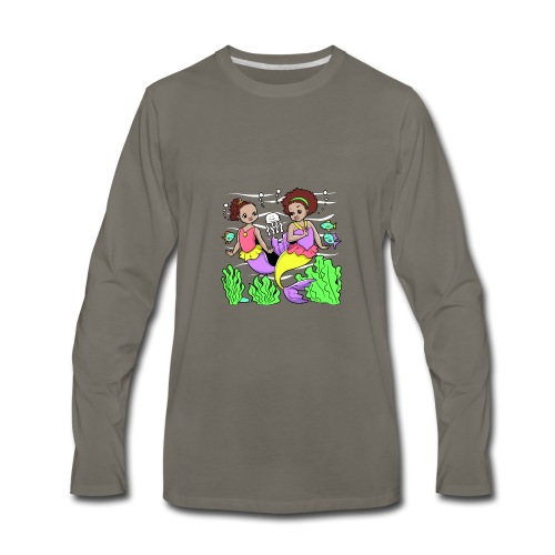 Mermaids - Men's Premium Long Sleeve T-Shirt