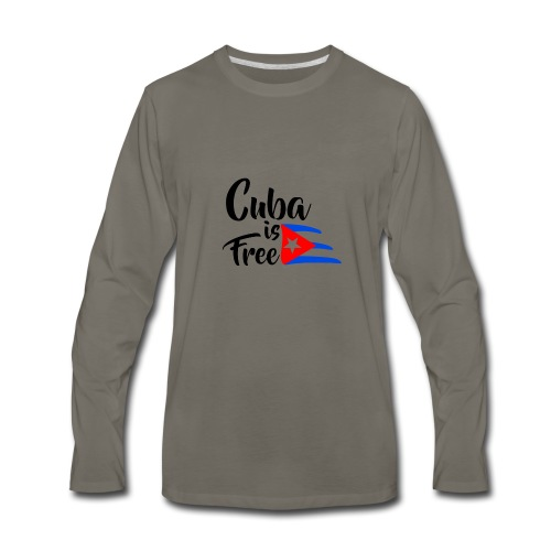 Fidel Castro - Men's Premium Long Sleeve T-Shirt