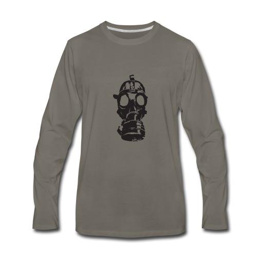 gas-mask - Men's Premium Long Sleeve T-Shirt