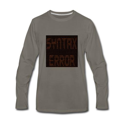syntax error - Men's Premium Long Sleeve T-Shirt