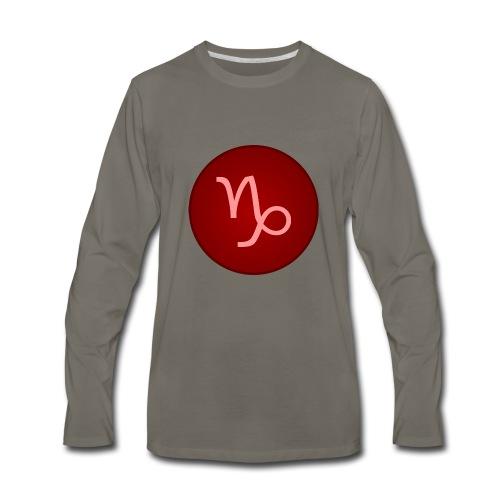 Capricorn Symbol - Men's Premium Long Sleeve T-Shirt