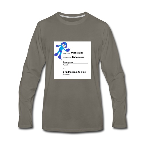 We Are Getting Sued - Men's Premium Long Sleeve T-Shirt