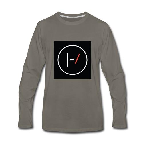 Twenty one pilots Blurryface pin - Men's Premium Long Sleeve T-Shirt