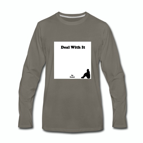 Deal with it by Daniel - Men's Premium Long Sleeve T-Shirt