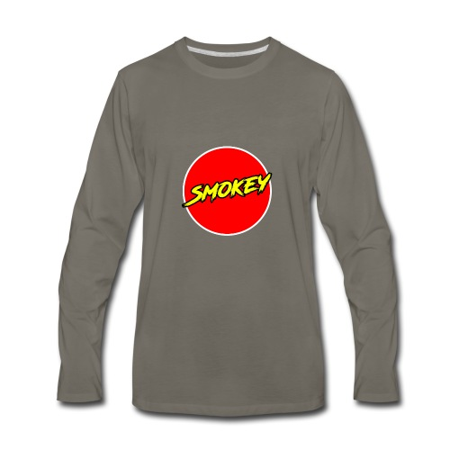 Smokey Mug - Men's Premium Long Sleeve T-Shirt