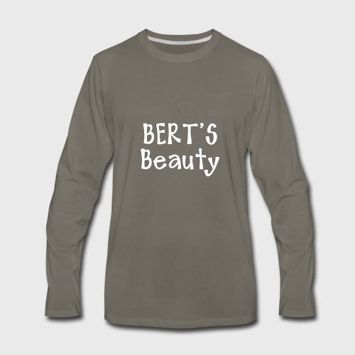 Bert's Beauty - Men's Premium Long Sleeve T-Shirt