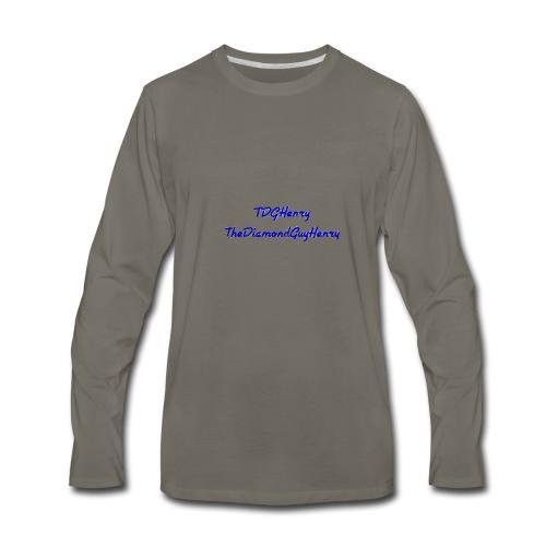TDGHenryTheDiamondGuyHenry - Men's Premium Long Sleeve T-Shirt