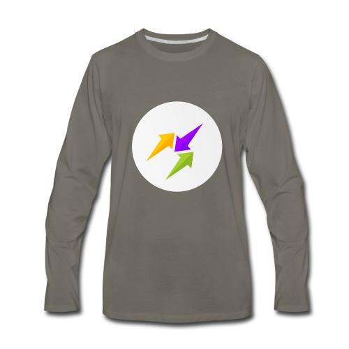 GosuTactics Logo - Men's Premium Long Sleeve T-Shirt