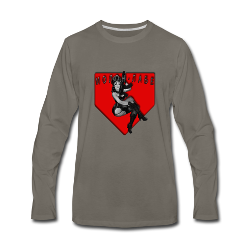CYRILLIC MOLON LABE - Men's Premium Long Sleeve T-Shirt