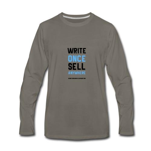 Write Once Sell Anywhere - Men's Premium Long Sleeve T-Shirt