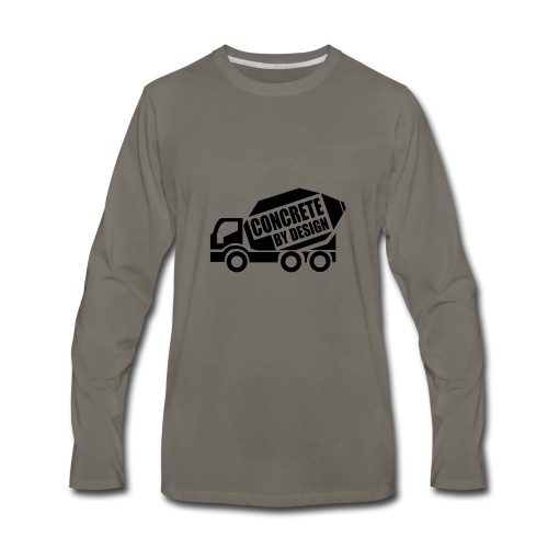 ConcretebyDesign - Men's Premium Long Sleeve T-Shirt