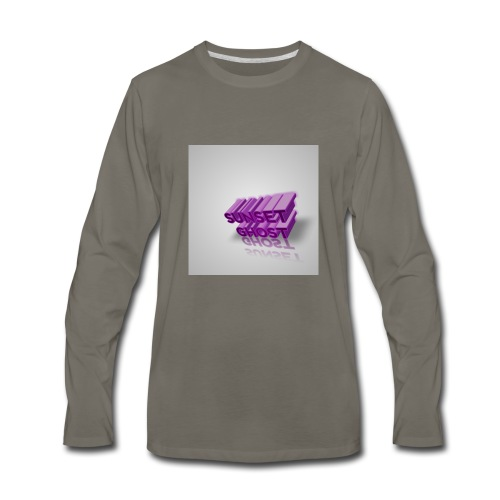 YouTube supporters - Men's Premium Long Sleeve T-Shirt