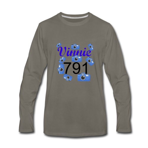 Vinnie 791 - Men's Premium Long Sleeve T-Shirt