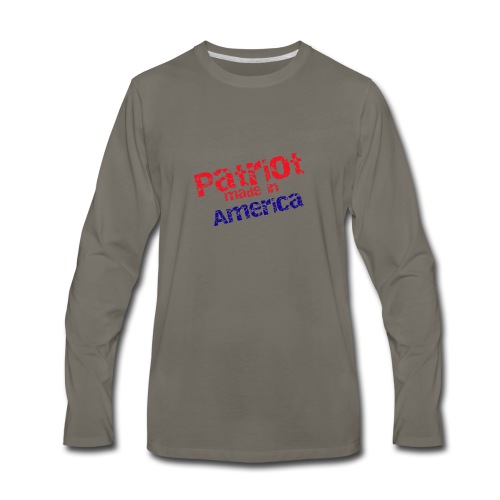 Patriot mug - Men's Premium Long Sleeve T-Shirt