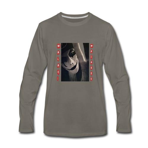 malaki face - Men's Premium Long Sleeve T-Shirt
