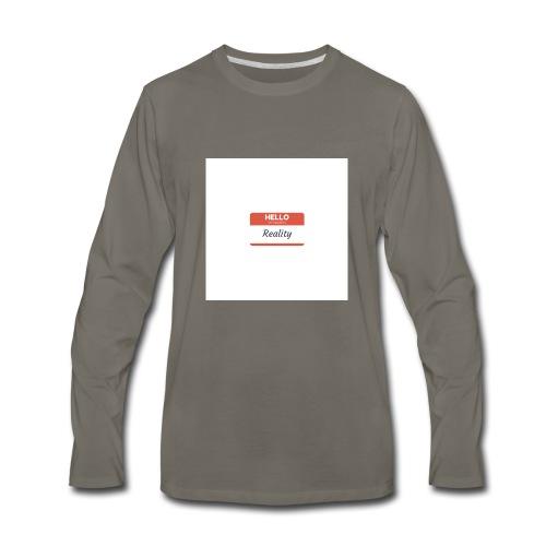 Let sGETReal - Men's Premium Long Sleeve T-Shirt