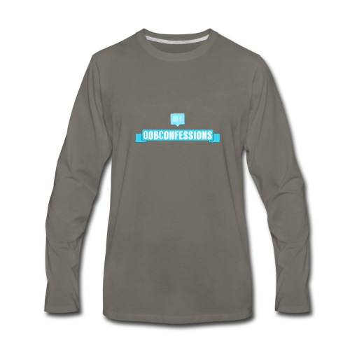 OOBConfessions! - Men's Premium Long Sleeve T-Shirt