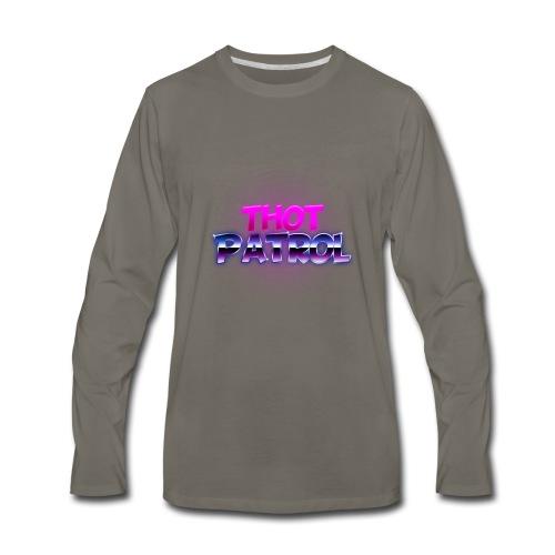 Thot Patrol - Shirt - Men's Premium Long Sleeve T-Shirt