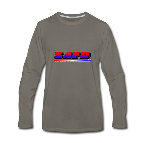 SAFR Logo - Men's Premium Long Sleeve T-Shirt