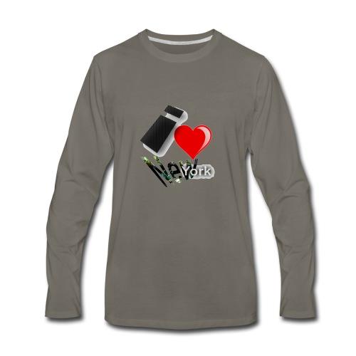 I Heart aka Love New York - Men's Premium Long Sleeve T-Shirt