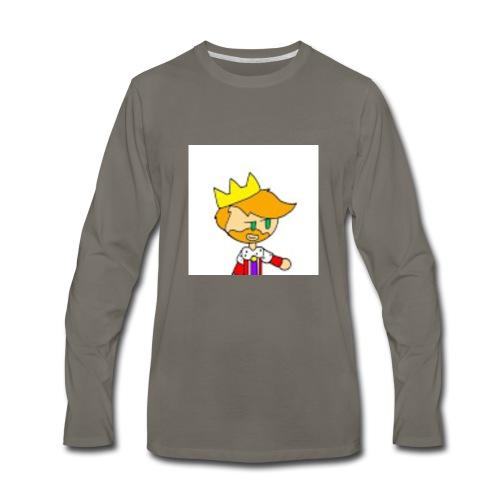 Hopps Logo Portable - Men's Premium Long Sleeve T-Shirt
