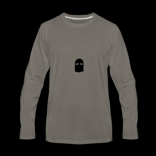 XVOX Ski Mask - Men's Premium Long Sleeve T-Shirt
