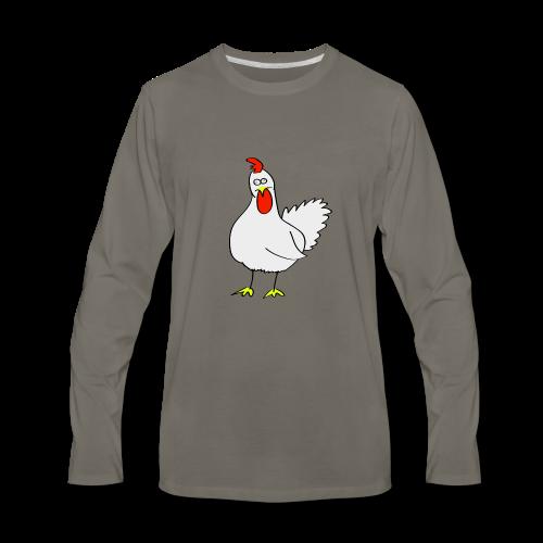 Chicken Surprise!! - Men's Premium Long Sleeve T-Shirt